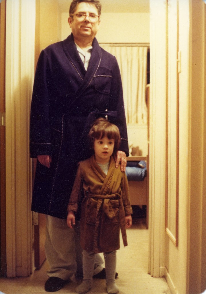 Me and my grandfather, 1978